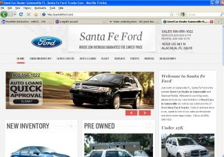 Visit Our Website Here! **BAD CREDIT** Finance Available At Santa Fe Ford
